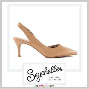 🆕 NIB Seychelles Ornament Kitten Slingback Heel